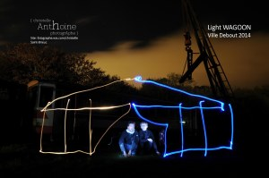 Lightpainting Saint-Brieuc
