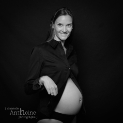 Photo grossesse maternité Saint-Brieuc Christelle Anthoine Photographe