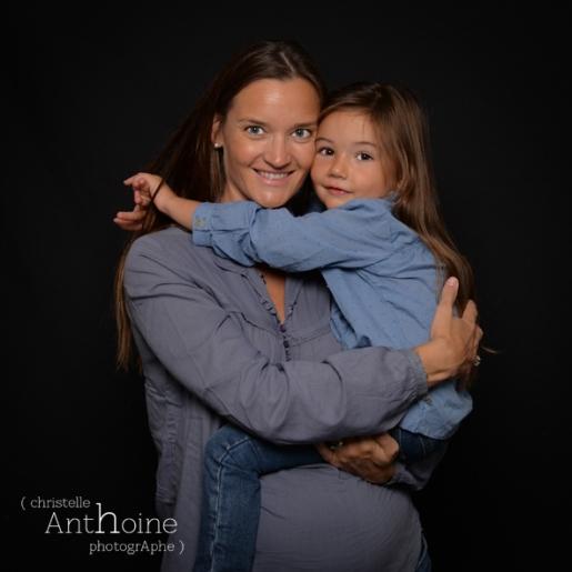 Portrait studio photo enfant famille saint brieuc photographe Christelle Anthoine bretagne côtes d'amor