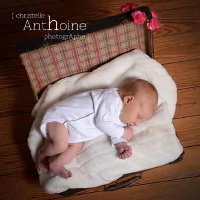 Portrait naissance photo Saint-Brieuc Christelle Anthoine Photographe