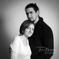 Portrait photo couple Saint brieuc photographe Christelle Anthoine