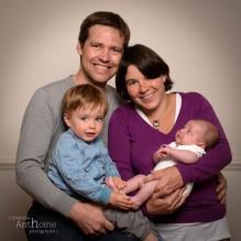 Photo bébé naissance 10 jours famille photographe saint-brieuc côtes d'armor bretagne Christelle Anthoine Photographe