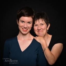 Photo famille studio photographe saint-brieuc côtes d'armor bretagne Christelle Anthoine Photographe