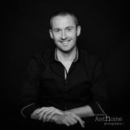 Portrait studio photo portrait magicien saint brieuc photographe Christelle Anthoine bretagne côtes d'amor