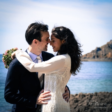 Photographe Mariage Pleneuf Val Andre plage photographe Saint-Brieuc Christelle Anthoine