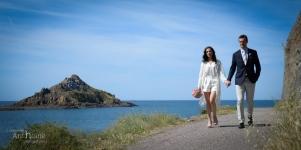 Photographe Mariage Pleneuf Val Andre plage photographe Saint-Brieuc Christelle Anthoine