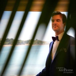 Mariage Pleneuf Val Andre préparatif marié photographe Saint-Brieuc Christelle Anthoine