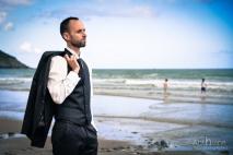 Mariage plage Tournemine pointe de pordic photographe pordic saint brieuc Christelle Anthoine