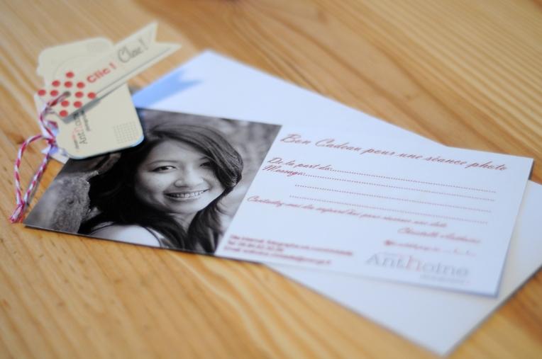 Bon cadeau Christelle ANTHOINE Photographe Saint-brieuc