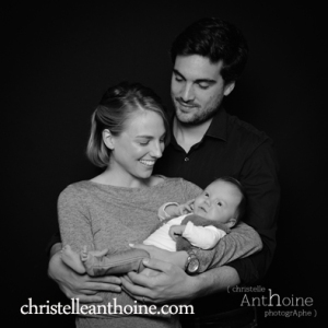 Portrait studio photo bébé saint brieuc photographe Christelle Anthoine bretagne côtes d'amor