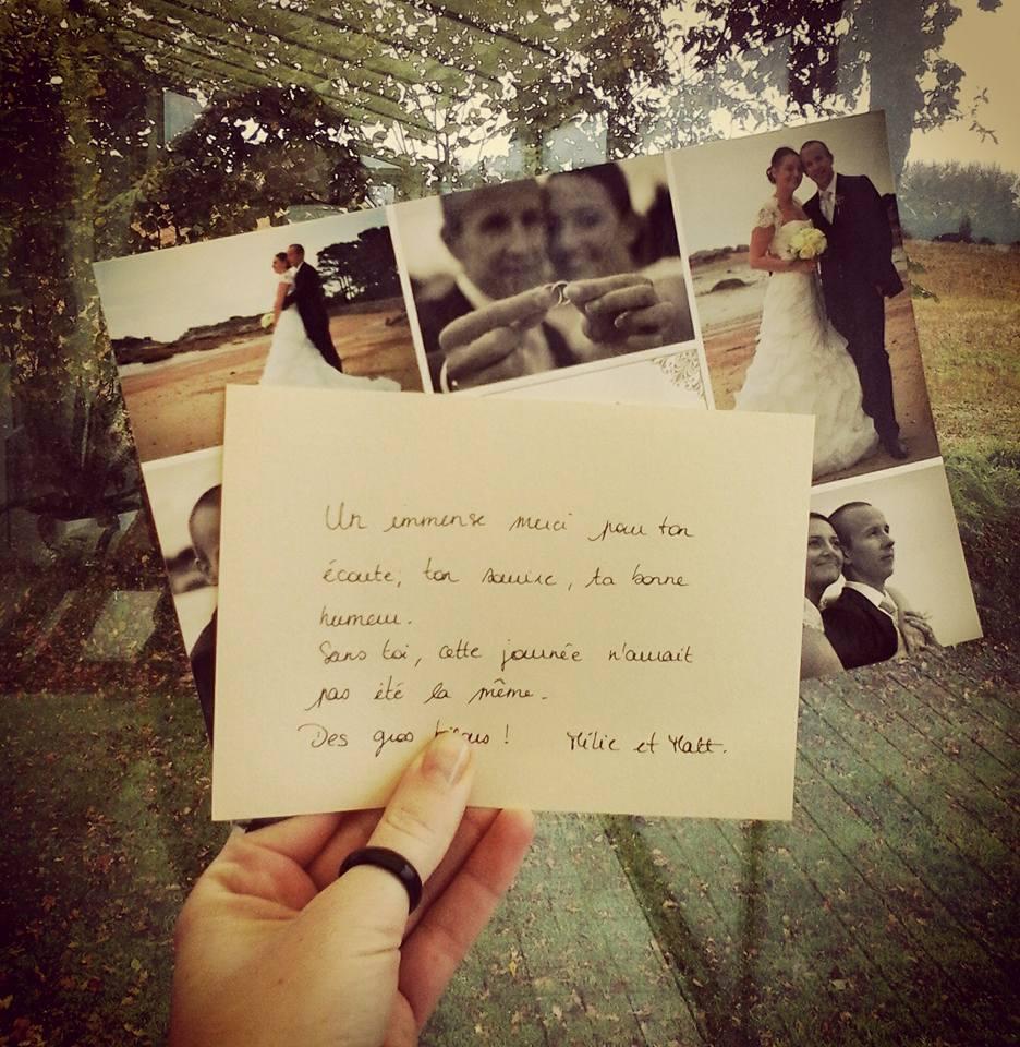 photographe mariage saint brieuc trgastel remerciement christelle anthoine - Photographe Mariage Saint Brieuc