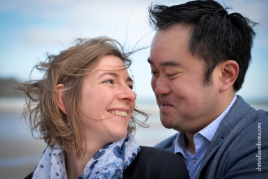 Photographe séance engagement Bretagne plage des Rosaires Plérin Christelle ANTHOINE 11
