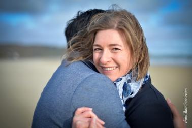 Photographe séance engagement Bretagne plage des Rosaires Plérin Christelle ANTHOINE 2