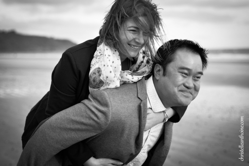 Photographe séance engagement Bretagne plage des Rosaires Plérin Christelle ANTHOINE 5