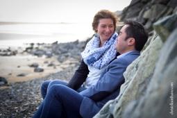 Photographe séance engagement Bretagne plage des Rosaires Plérin Christelle ANTHOINE 6