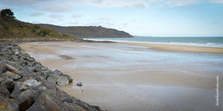 Photographe séance engagement Bretagne plage des Rosaires Plérin Christelle ANTHOINE