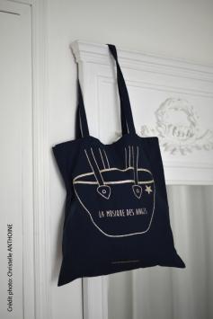 Photographe textile Bretagne Saint Brieuc vêtement tot bag La Musique des Anges 1