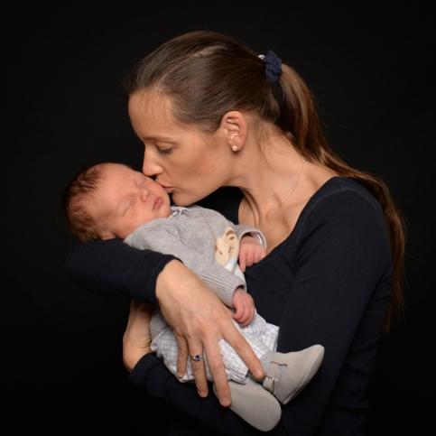 Séance photo nouveau né bébé photographe Bretagne 5