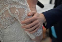 Photographe mariage Bretagne domaine Pommorio gare Lamballe Christelle ANTHOINE 49