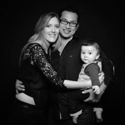 portrait famille séance photo studio Saint-brieuc photographe Bretagne