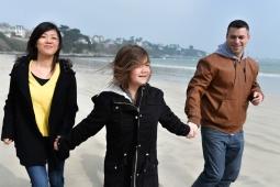 Séance famille photographe Bretagne plage Saint-Cast Le Guildo Christelle ANTHOINE 6