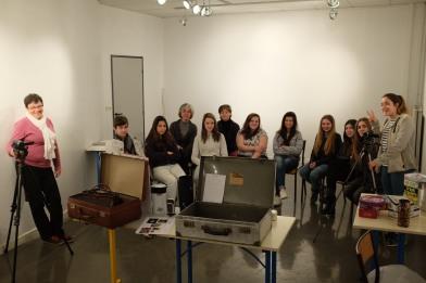 Atelier sténopé photographe Bretagne collège Camille Claudel Saint Quay Portrieuc