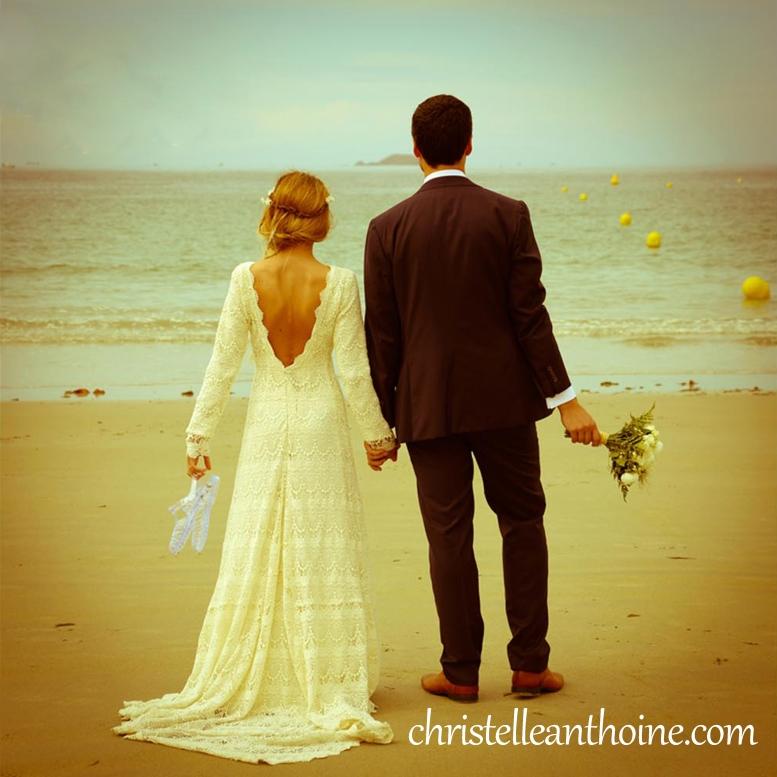 Photographe mariage Bretagne Christelle ANTHOINE Perros guirec
