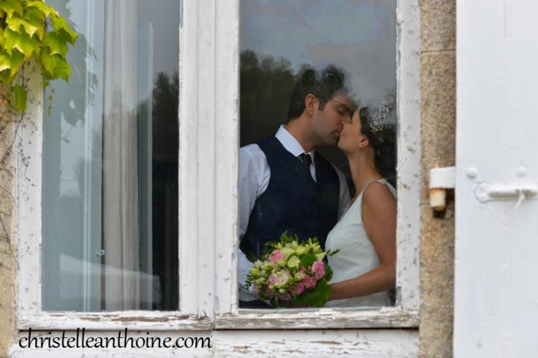 Christelle Anthoine Photographe mariage manoir de kérouzien bénodet Bretagne