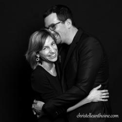 Christelle Anthoine Photographe couple séance studio bretagne saint brieuc