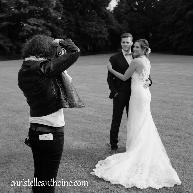 Christelle Anthoine Photographe mariage bretagne saint brieuc côtes d'armor château des marais hillion