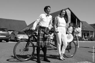 Photographe mariage bretagne mariés plougrescant côtes d'armor -3