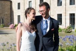 Photographe mariage bretagne mariés plougrescant côtes d'armor -91