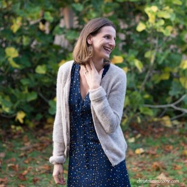 Photographe bretagne portrait entreprise corporate saint brieuc cotes darmor textile vêtements prêt à porter boutique cocon d'Erell collection automne