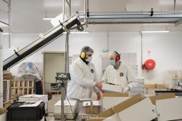 Photographe reportage entreprise usine agroalimentaire crêpe saint brieuc langueux bretagne côtes d'armor trégueux guingamp hillion corporate