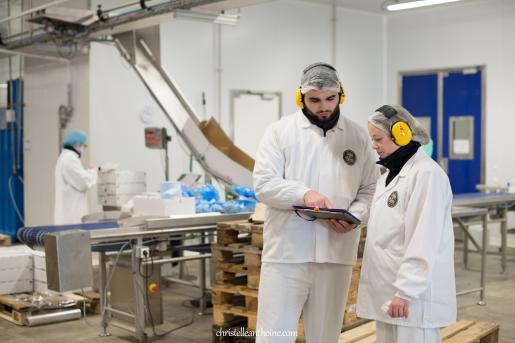 Photographe reportage entreprise usine agroalimentaire saint brieuc langueux bretagne côtes d'armor trégueux guingamp hillion corporate